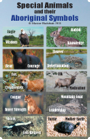 Special Animals and Their Aboriginal Symbols Poster